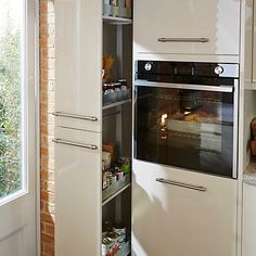 Larder unit - a definite must for the new kitchen