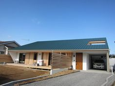 Roof Colors, Construction Design, Japanese House, Black House, My Dream Home, Home Projects, Ideal Home, Facade, Floor Plans