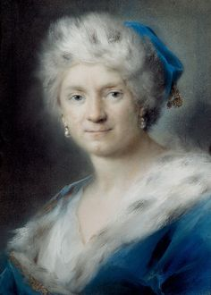 Self-portrait as Winter - Rosalba Carriera