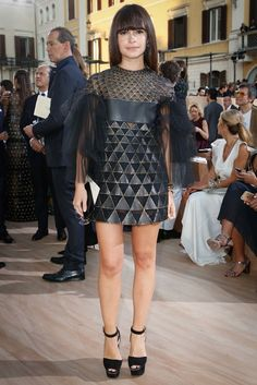 Valentino Fall 2015 Couture Fashion Show Front Row