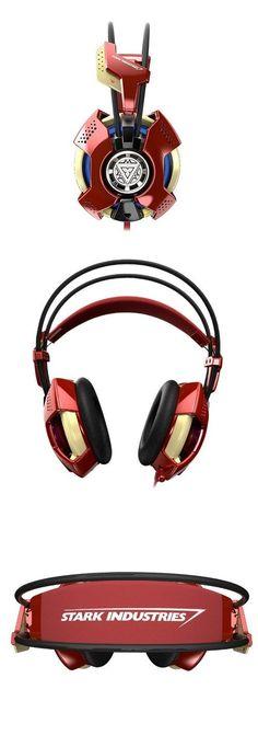 Iron Man Headset http://gizmosandgadgets.org/iron-man-headset/