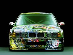 BMW E36 Art Car Elevation
