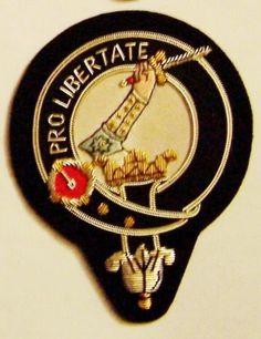 Royal-Scottish-Scotland-Clan-Wallace-Braveheart-Heraldry-Crest-Family-Name-Patch