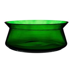 IKEA - BJÖRKSNÄS, Bowl, Fill the bowl with fruit or decorations or use it alone, as a beautiful object in its own right.The glass bowl is mouth blown by a skilled craftsperson.