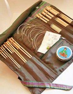 Knitting Needle Bag Pattern : knitting patterns , Circular Knitting Needle Case Pattern : Circular Knitting...