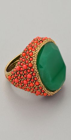 Coral and Jade