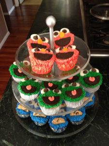 Not Your Normal Steam - Sesame Street Cupcakes