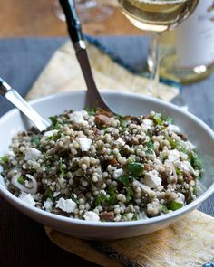 Lentil and Israeli Couscous Salad