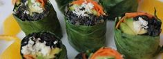 Collard Roll Ups with Coconut Curry Kale | The Food Evolution