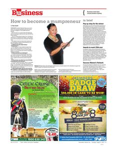 Article featured in Parramatta Sun August 2015 The Draw, Growing Your Business, How To Become, Sun, Solar
