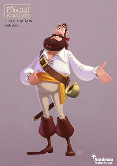 Pirate 3D Character #pirate #character #3D