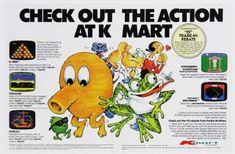Kmart ad. Featuring Q-Bert. (1980s)
