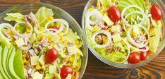 Le régime Natman pour perdre 4 kilos en 4 jours Cobb Salad, Potato Salad, Potatoes, Diet, Healthy, Ethnic Recipes, Blog, Healthy Living, Drink