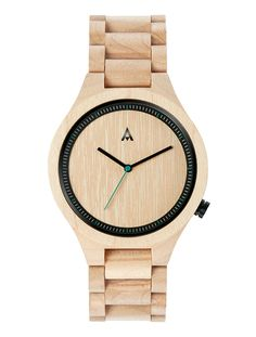 Montre bracelet en bois OWL Maple