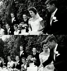 9/12/13 Today is the 50th anniversary of JFK and Jackie's wedding September 12, 1953.