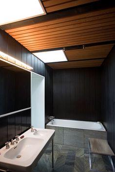 Gunnløgsson's Own House - modernism - Danish House, Danish Interior Design, Bath Design, Modern Bathroom, Bathroom Inspo, Interior Architecture, Building A House, New Homes, Bathrooms