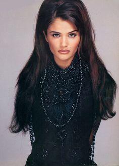 "the90ssupermodels: "" Helena Christensen Vogue Italia October 1992 """