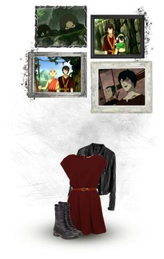 """""""Zuko's Life-Changing Fieldtrips"""" by siriuslyoddsome ❤ liked on Polyvore featuring Steve Madden, aang, avatar, sokka, avatar the last airbender, toph, zuko and katara"""