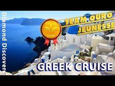 Jeunesse Diamond Discover Greek Cruise 2014 - Team OURO!