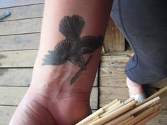 Wrist Bird Tattoos