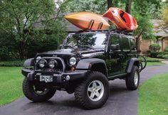 jeeps kayaks | jeep kayak rack