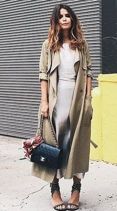 Summer Cover-Up: Silk Trenches