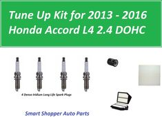 Tune Up Kit Air Oil Fuel Filters Plugs for Honda Passport 1998-2002