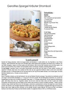 Gerolltes Kräuter Spargel Stromboli | Das Knusperstübchen