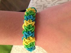 double x rainbow loom bracelet on etsy | cool mom picks