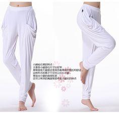Ropa de baile Modal pantalones sueltos Square Dance Fitness pantalones sección de la viga pantalones de pierna harén pantalones dama / Pantalón babucha, sarouel, aladdin, harem/haren, bombacho, afgano