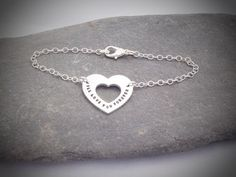 """Love You Forever Bracelet from the """"Love you Forever"""" range. Dainty and elegant."""