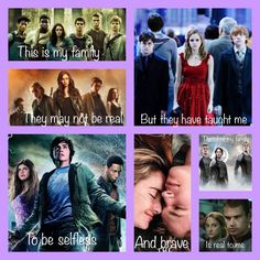 Maze Runner, The Mortal instruments, Harry Potter, Percy Jackson and the Olympians, The Fault in our Stars, The Hunger Games, Divergent
