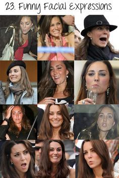 Kate Middleton expressions