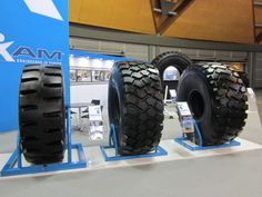 MAXAM tires exhibited @ AIMEX Sydney 2013  #Maxam #MaxamTire #Tire #Tyre #Tires #Show #AIMEX #Sydney #Australia #Stamford #Exhibition #OTR #Solid #Pneumatics #Industrial #Construction #Mining #Smooth #Running