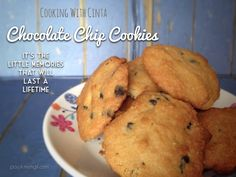 Chocolate Chip Cookies Ala Cinta. Simple cookies recipe that we can make with the kids.