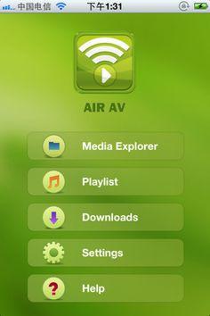 AirAV  http://itunes.apple.com/fr/app/airav/id480962404?mt=8=1611348