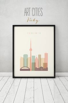 Hey, I found this really awesome Etsy listing at https://www.etsy.com/ca/listing/247896000/toronto-print-poster-wall-art-toronto