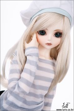 Young girl doll