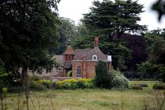 The stunning 10-bedroom Anmer Hall on the Queen's Sandringham estate in England , where Prince William and Kate Middleton are set to make their home after the arrival of their first child, which is due this month