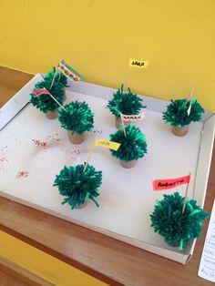 Festas populares: manjerico em pompom