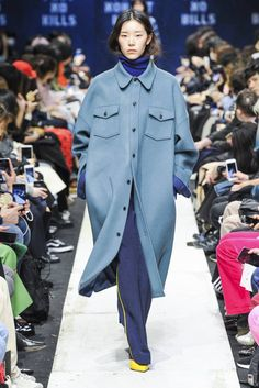 See all the Collection photos from Nohant Autumn/Winter 2018 Ready-To-Wear now on British Vogue Seoul Fashion, High Fashion, Winter Fashion, Haute Couture Style, Trendy Outfits, Fashion Outfits, Fashion Tips, Fashion Design, Fashion Fashion