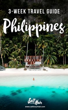 Philippines Travel Guide: The Ultimate Travel Route. Philippines Travel Guide: The Ultimate Travel Route. Voyage Philippines, Philippines Travel Guide, Visit Philippines, Philippines Destinations, Palawan, Siargao, Travel Blog, Asia Travel, Travel Tips