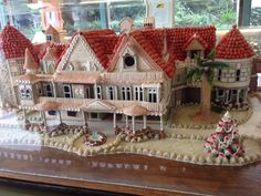 Winchester Mystery Gingerbread house 2013
