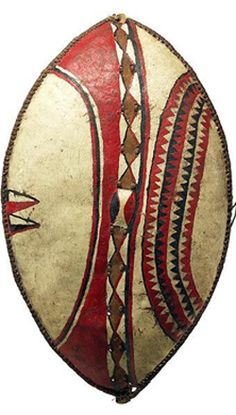 Escudo de guerra africano