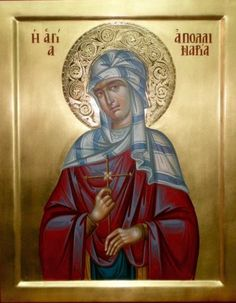 The Story of St Apollinaria and Other Cross-dressing Female Saints of the Desert - Greek American Girl St Anastasia, Byzantine Icons, Icon Collection, Catholic Saints, Orthodox Icons, Religious Art, Crossdressers, Art Reference, Christianity