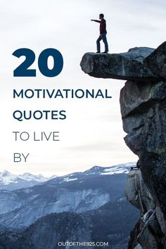 The road to success is a bumpy and challenging path. Reach your goals with these 20 motivational quotes to live by. Which is your quote of the day?
