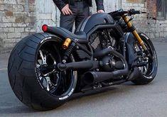 VRod HD Flat Black #harleydavidsoncustommotorcyclesvrod