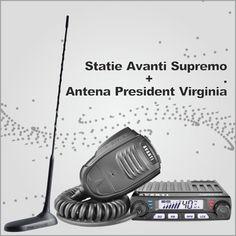 Poze Statie radio CB Avanti Supremo + Antena radio CB President Virginia