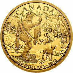 Canadian History, Native American History, American Art, Bullion Coins, Gold Bullion, Canadian Gold Coins, All About Canada, Foreign Coins, Coin Art