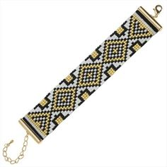 Refill - Gatsby Loom Bracelet - Gold - Exclusive Beadaholique Jewelry Kit…